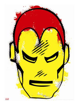 Marvel Comics Retro: The Invincible Iron Man Stretched Canvas Print