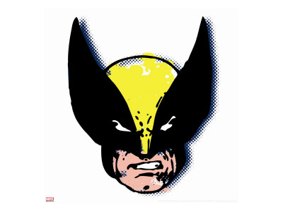 Marvel Comics Retro: Wolverine Stretched Canvas Print