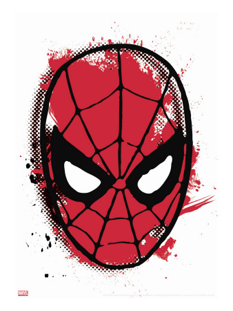 Marvel Comics Retro: Spider-Man Stretched Canvas Print