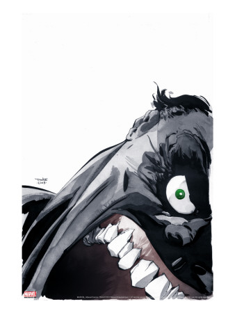 Gray No.5 Cover: Hulk Stretched Canvas Print