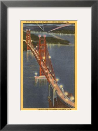 san francisco golden gate bridge at night. Night, Golden Gate Bridge, San
