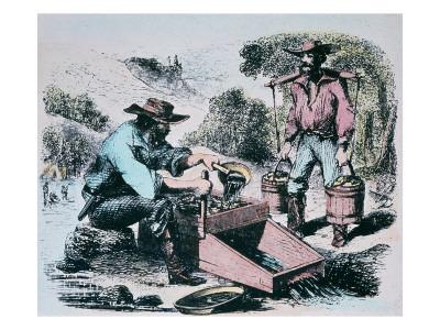 1849 california gold rush miners. 1849 gold rush tools.