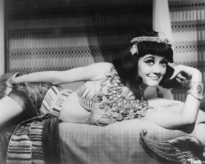 Amanda Barrie - Carry on Cleo Stretched Canvas Print
