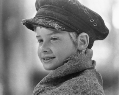 Mark Lester - Oliver! Stretched Canvas Print