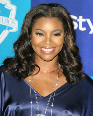 Gabrielle Union Stretched Canvas Print