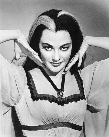 Yvonne De Carlo - The Munsters Stretched Canvas Print
