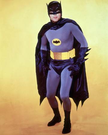 Adam West Stretched Canvas Print