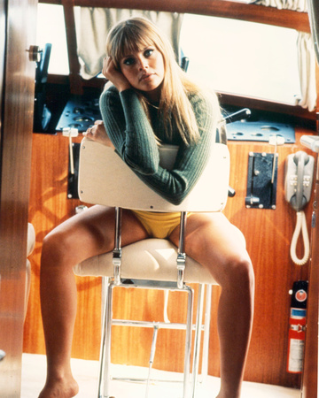 Britt Ekland Stretched Canvas Print