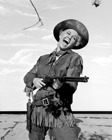 Doris Day - Calamity Jane Stretched Canvas Print