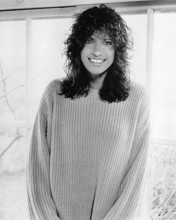 Carly Simon Stretched Canvas Print