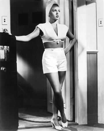 Lana Turner - The Postman Always Rings Twice Stretched Canvas Print