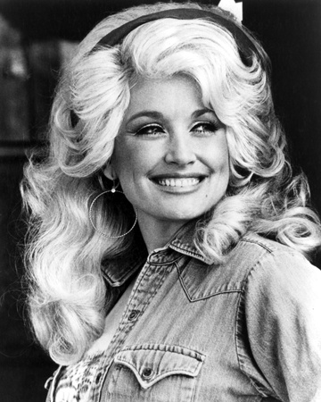 Dolly Parton Stretched Canvas Print