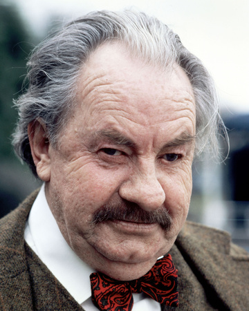 Leo McKern - Rumpole of the Bailey Stretched Canvas Print