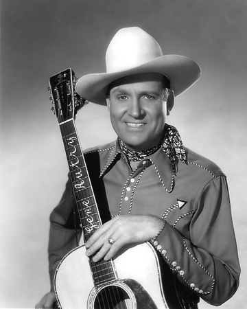 Gene Autry Stretched Canvas Print