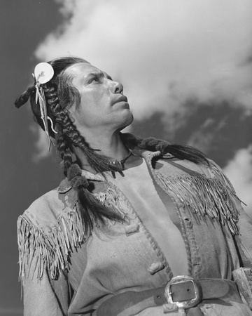 Jay Silverheels Stretched Canvas Print