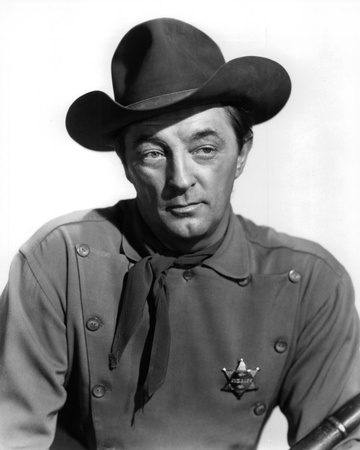 Robert Mitchum - El Dorado Stretched Canvas Print