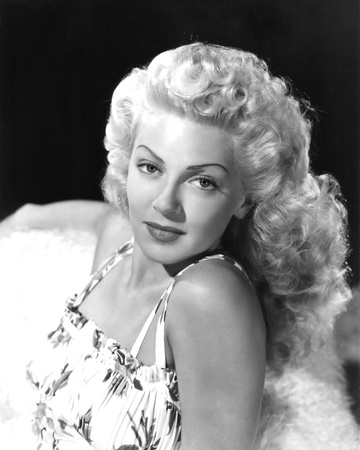 Lana Turner Stretched Canvas Print