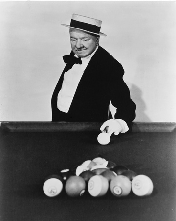 W.C. Fields Stretched Canvas Print