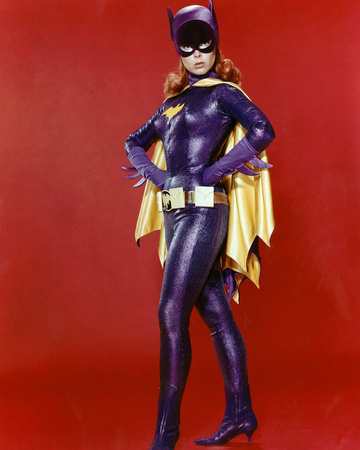 Yvonne Craig Stretched Canvas Print