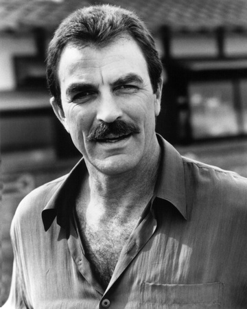 Tom Selleck Stretched Canvas Print