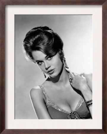 jane fonda  1962 framed