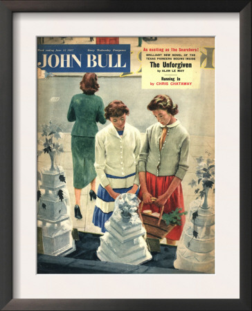 John Bull Women Friends Weddings Cakes Window Shopping Dreaming Magazine