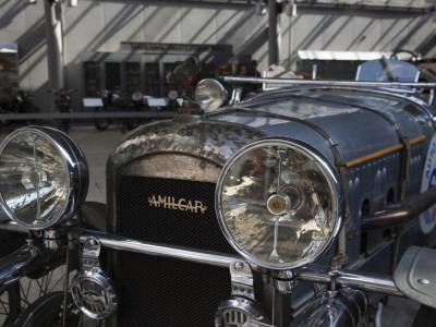 1930s-Era Amilcar Racing Car, Riga Motor Museum, Riga, Latvia Stretched Canvas Print