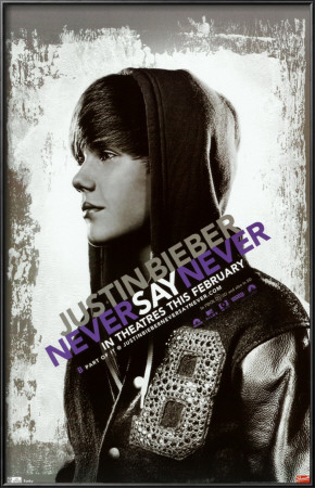 justin bieber never say never poster. Justin Bieber - Never Say