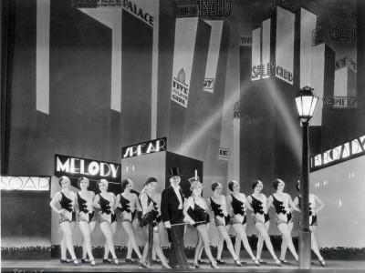 The Broadway Melody, 1929 Stretched Canvas Print
