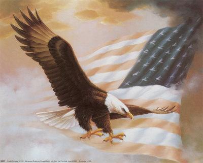 Eagle Painting Print at Art
