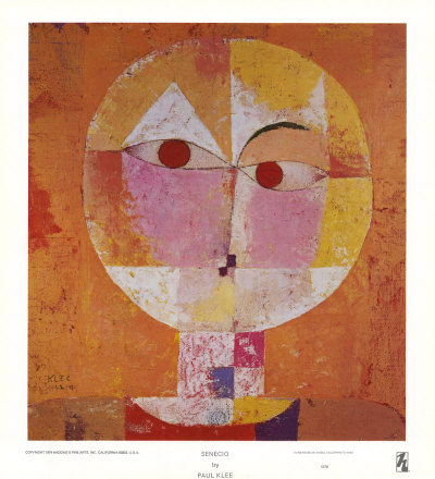 Senecio Print by Paul Klee at Art.