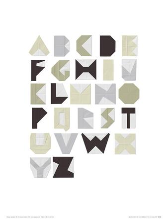 Alphabet Blocks Stretched Canvas Print