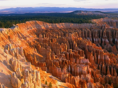 Bryce Amphitheater Stretched Canvas Print