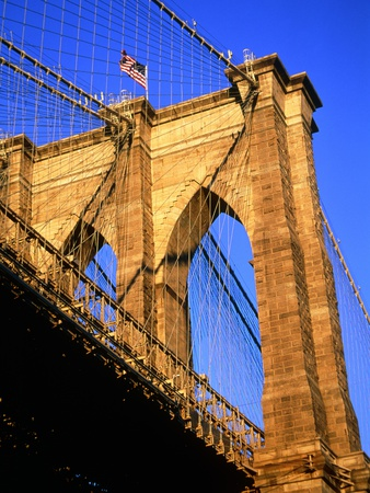 Brooklyn Bridge Stretched Canvas Print