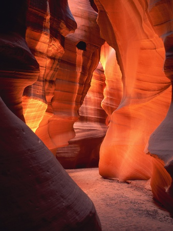 Antelope Canyon in Arizona - USA Stretched Canvas Print