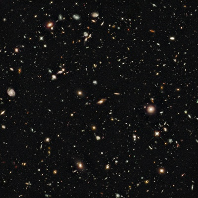 New Galaxies Seen with the Hubble Space Telescope Wide Field Camera Stretched Canvas Print