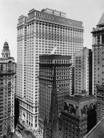 The Equitable Building, New York Stretched Canvas Print