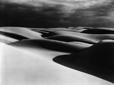 Dunes, Oceano, California, 1939 Stretched Canvas Print