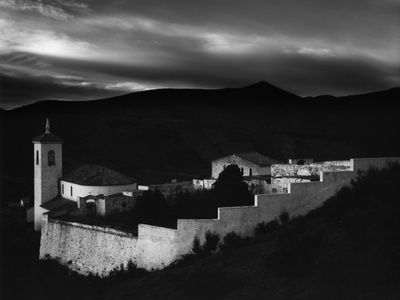 Village, Spain, 1960 Stretched Canvas Print