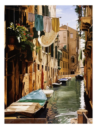 Venice Canal landscape artwork by Reynard Milici