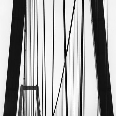 Bridge Towers Stretched Canvas Print
