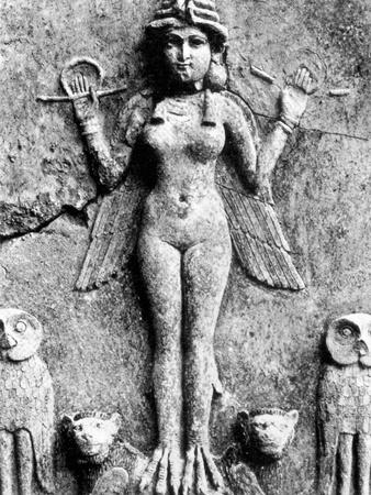 Lilith, C1950 B.C Stretched Canvas Print