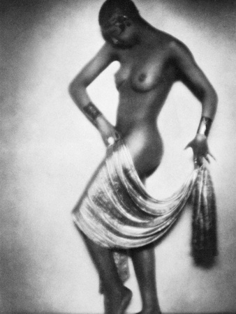 Josephine Baker (1906-1975) Stretched Canvas Print