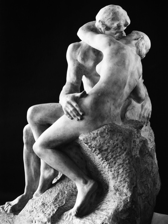 Rodin: The Kiss, 1886 Stretched Canvas Print