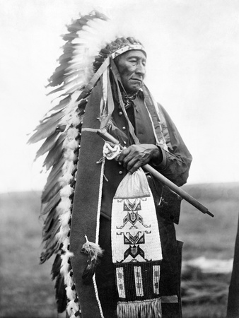 Sioux Chief, C1905 Stretched Canvas Print