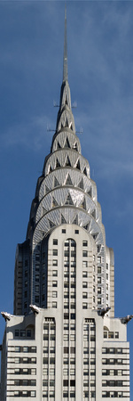 Chrysler Building, 2007 Stretched Canvas Print