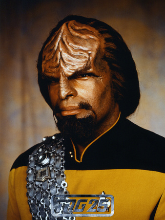 Star Trek: The Next Generation, Lieutenant Worf Stretched Canvas Print