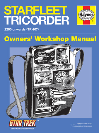 Star Trek: The Original Series, Starfleet Tricorder Owners' Workshop Manual Stretched Canvas Print