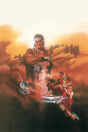 Star Trek: Wrath of Khan Stretched Canvas Print