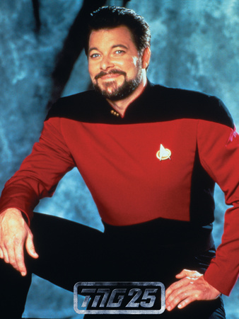 Star Trek: The Next Generation, Commander William T. Riker Stretched Canvas Print